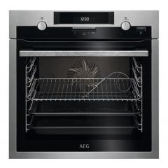 Aeg BCS552020M  SenseCook Multifunction oven with retractable rotary controls + CataFan, Food probe,