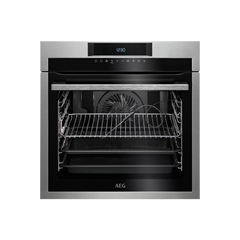 Aeg BPE642020M  SenseCook Pyrolytic oven with ProSight touch controls (Symbols), white LEDs, stainle