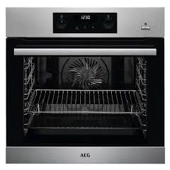 AEG BPS355020M  SteamBake Pyrolytic Single oven