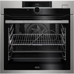 Aeg BSE882320M  SteamBoost Multifunction Steam oven with Command Wheel control, HD TFT Display, 3 st