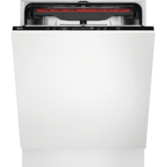 Aeg FSS53907Z Fully Integrated Dishwasher, 14Ps, A+++, 46Dba, Full Width Cutlery Drawer, Quick Selec