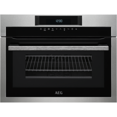 Aeg KME761000M  CombiQuick Combination Microwave compact oven with ProSight touch controls, white LE