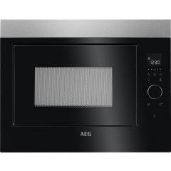 Aeg MBE2658SEM  Fully Built-in / Built-under 26lt Microwavel. Rotary Control With Touch on Glass. To