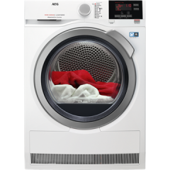 Aeg T8DBG842R  Tumble dryer. 8000 Series, AbsoluteCare technology. 8kg capacity, Outdoor, Wool and S