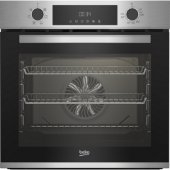Beko CIMY91X Electric Single Oven A Energy Rated, Fan Oven, 6 Programmes, 5X Shelves, Programable Ti