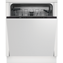 Beko DIN15C20 Dishwasher A++ Energy Rated/ E (New), 14X Place Settings, 5 Programmes, Touch Button C
