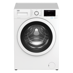Beko WEC840522W 8Kg 1400 Spin Washing Machine A+++ Energy Rated/ C (New), 15 Programmes, Delay Start