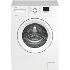Beko WTK82041W 8Kg 1200 Spin Washing Machine A+++ Energy Rated/ C (New) Tbc, 15 Programmes, Delay St