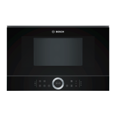 Bosch BFL634GB1B TFT display, upto 900W, 21L, 5 power levels, electronic control, left hinged door