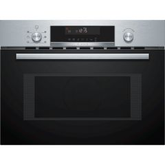 Bosch CMA585GS0B White LCD display, 3 functions, Microwave; Microwave combination options, AutoPilot