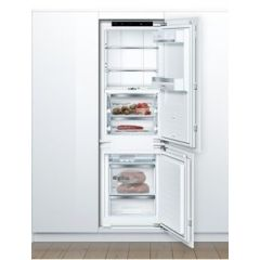 Bosch KIF86PFE0 177x54 NoFrost bottom freezer, VarioShelf, VitaFresh Pro with 0°, jog dial, 3 easy a