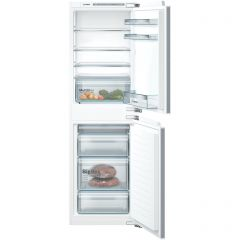 Bosch KIV85VFF0G 177X54 LowFrost bottom freezer, MultiBox, LED, SuperFreezing, 4 glass shelf, Fixed