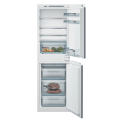 Bosch KIV85VSF0G 177X54 LowFrost bottom freezer, MultiBox, LED, Digital temperature control, 4 glass