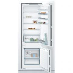 Bosch KIV87VSF0G 177x54 LowFrost bottom freezer, MultiBox, LED, SuperFreezing, 4 glass shelf, Slidin