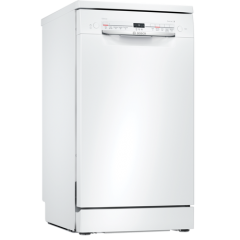 Bosch SPS2IKW04G 296SPS2IKW04G Slimline Dishwasher A++ Energy Rated, 9x Place Settings, 5 Programmes