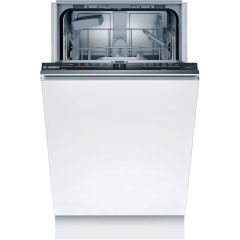Bosch SPV2HKX39G Slimline, 5 prog, 4 options, Flex baskets, InfoLight, Heat Exchanger drying, 3/6/9h