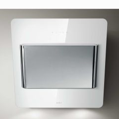 Elica VERVE-55-WH Verve white glass/polished stainless steel 550mm