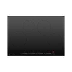 Fisher And Paykel CI764DTB4 760mm Wide Induction `Touch + Slide` Control Frameless 4 Zone Minimal St