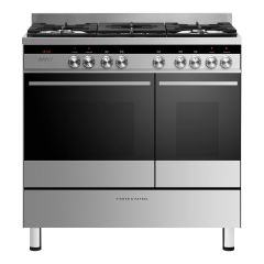 Fisher + Paykel OR90L7DBGFX1 OR90L7DBGFX1 900mm Wide Double Door - Double M/F Ovens - Asymmetric Spl