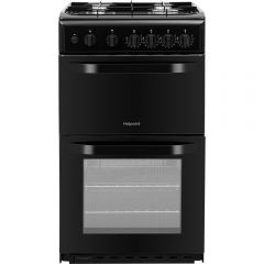 Hotpoint HD5G00KCB 50Cm Cooker Double Oven