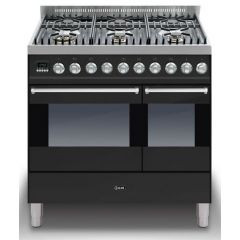 Ilve KD906MP/Ultimo 90cm Twin 60/30 ovens 6 Gas Burners
