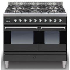Ilve PD1006MP/Moderna 100cm Twin 60/40 ovens 6 Gas Burners
