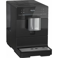 Miele Appliances CM5300 Black Bean-to-Cup Coffee Machine: auto cappuccino and cafe latte: One Touch