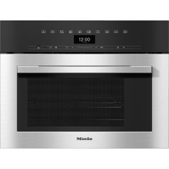 Miele Dgm7340 Steam Oven And Microwave, Sensortronic : 40 Litre Capacity, Dualsteam Techn