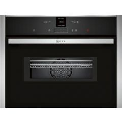 Neff C17UR02N0B Upto 1000W Microwave, electronic, ClearText, small TFT display, Touch Control button