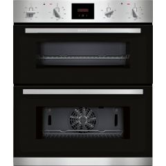 Neff J1GCC0AN0B CircoTherm Main oven, 5 functions, Red LED display. 2nd oven 3 functions