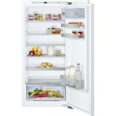 Neff KI1413FF0 122x54 built in fridge, FreshSafe 2, LED Light, 6 glass shelves, fixed hinge