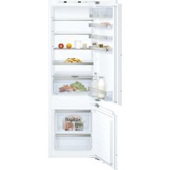 Neff KI6873FE0G 177x54 LowFrost bottom freezer, FreshSafe 2, easy access shelf, fixed hinge, 70/30 s