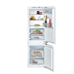 Neff KI8865DE0 177x54 NoFrost bottom freezer, Fresh safe 3, 0° with jog dial, bottle flex shelf, red