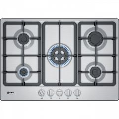 Neff T27BB59N0 75cm, Wok, 5 burners, cast iron supports