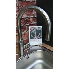 Quooker FLEX Boiling Water Tap In Polished Chrome - Pull Out Hose