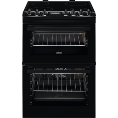 Zanussi ZCV69360BA 60cm Cooker with Double Oven