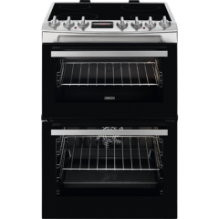 Zanussi ZCV69360XA 60cm Cooker with Double Oven
