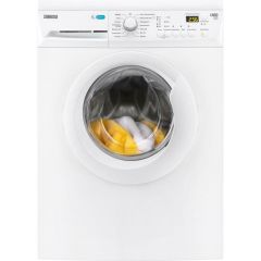 Zanussi ZWF81443W ZWF81443W 1400 Spin 8kg Washing Machine, A+++ Rated, AquaFall Wash System: Deliver